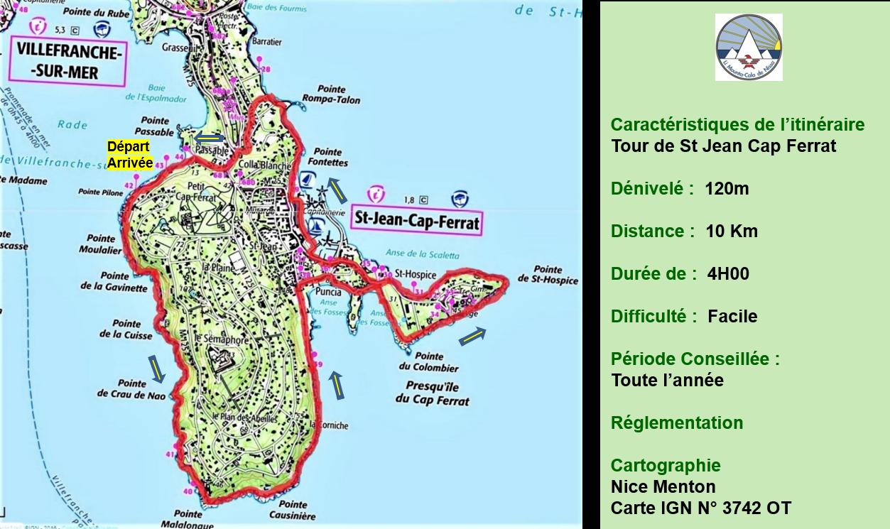 Tour de St Jean Cap Ferrat