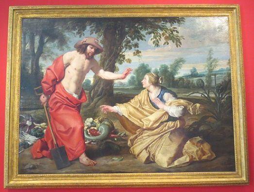 Jésus dit à Marie-Madeleine de refuser le péché évoqué par le toucher.