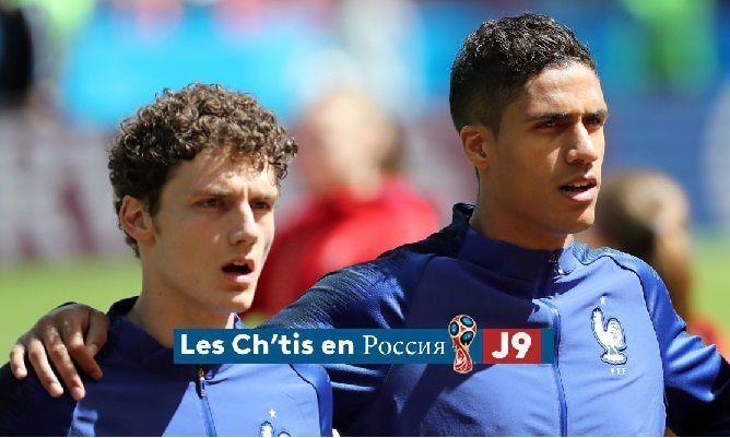 Jeudi, pour France-Pérou, nous comptons sur les deux Ch'tis sélectionnés ( N° 1868 )