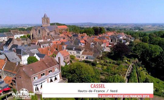 Le 19 juin 2018, CASSEL a été élu village préféré des Français. Bravo ! ( N° 1870 )