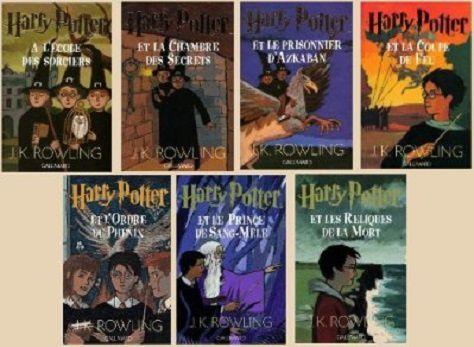 L'oeuvre de J.K. Rowling en 7 tomes
