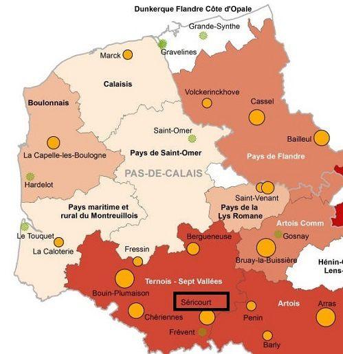 Jardins des Hauts de France dont SERICOURT dans la SOMME