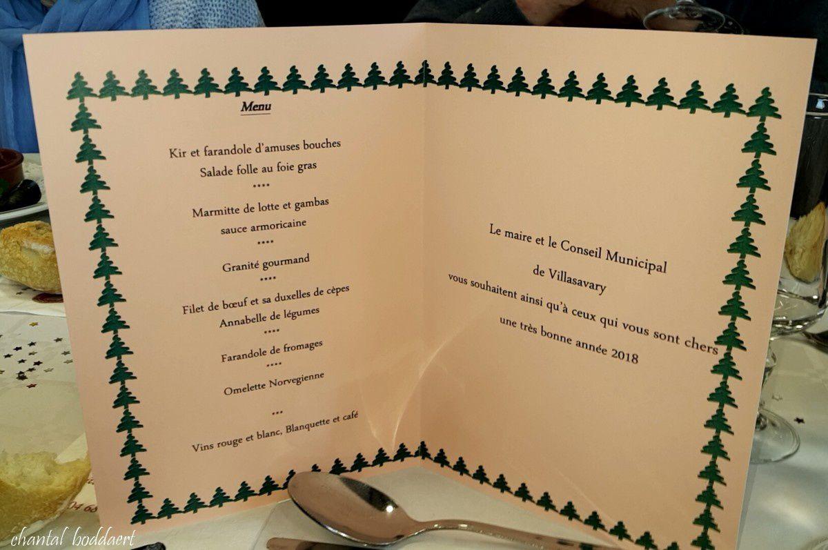 Le repas de Noël des Ainés au Villasavary, Aude