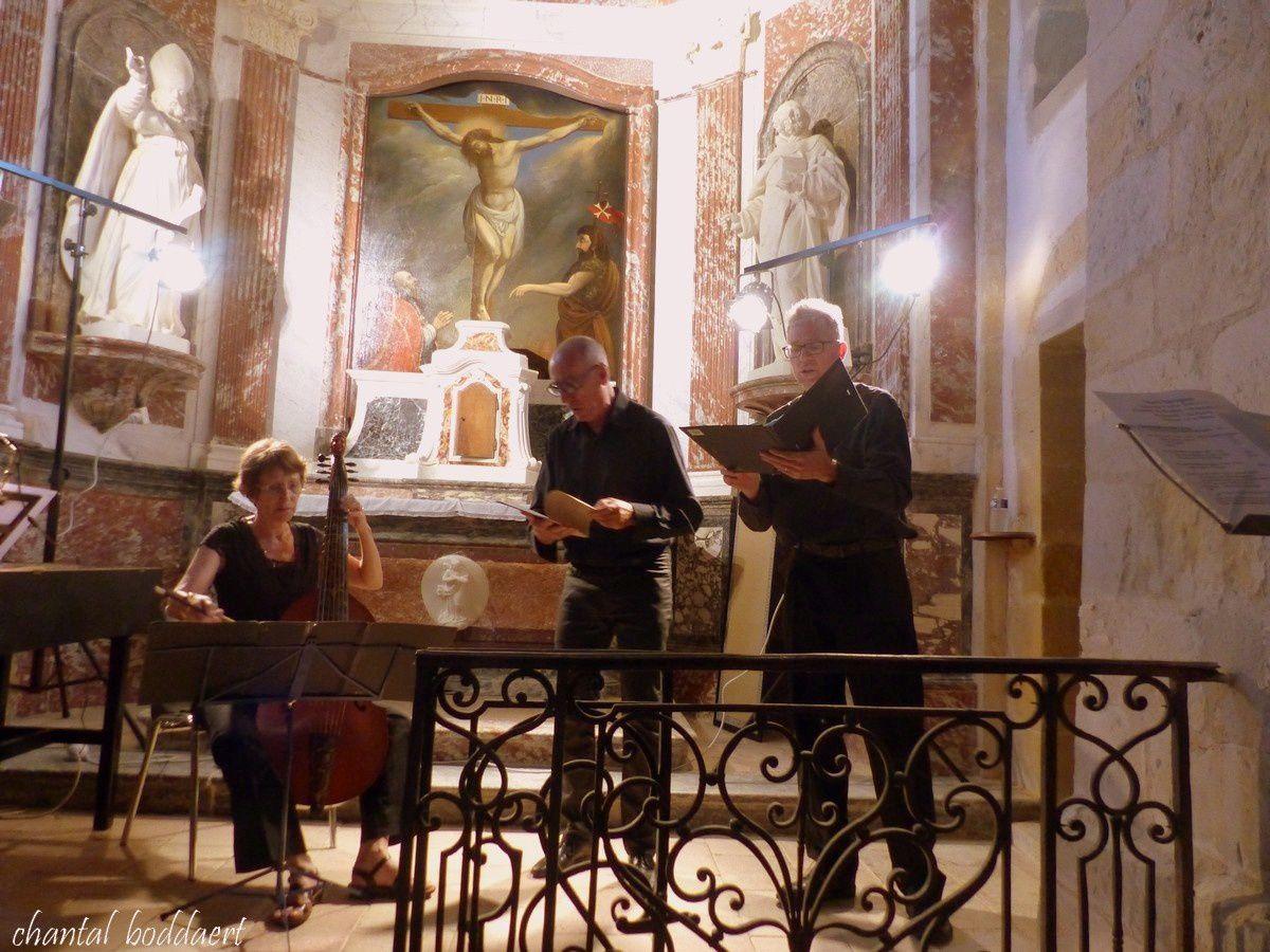 Chapelle de Besplas, Villasavary, Occitanie, Duos baroques par l'Ensemble Vita Brevis