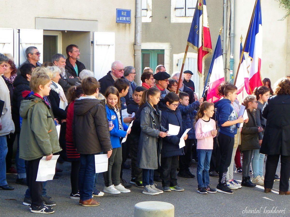 Cérémonies du 11 Novembre 2018 au Villasavary (Aude) Occitanie