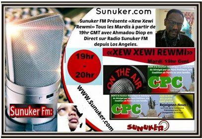 Emission « Xew Xewi Rewmi » du mardi 6 Juin 2017 avec Ahmadou Diop: Concitoyens sénégalais, concitoyennes sénégalaises.