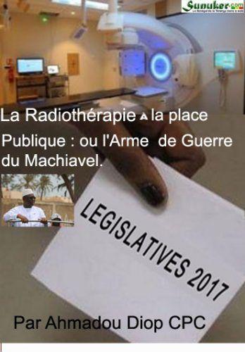 La Radiothérapie À la place publique : ou « L'Arme de Guerre » du Machiavel