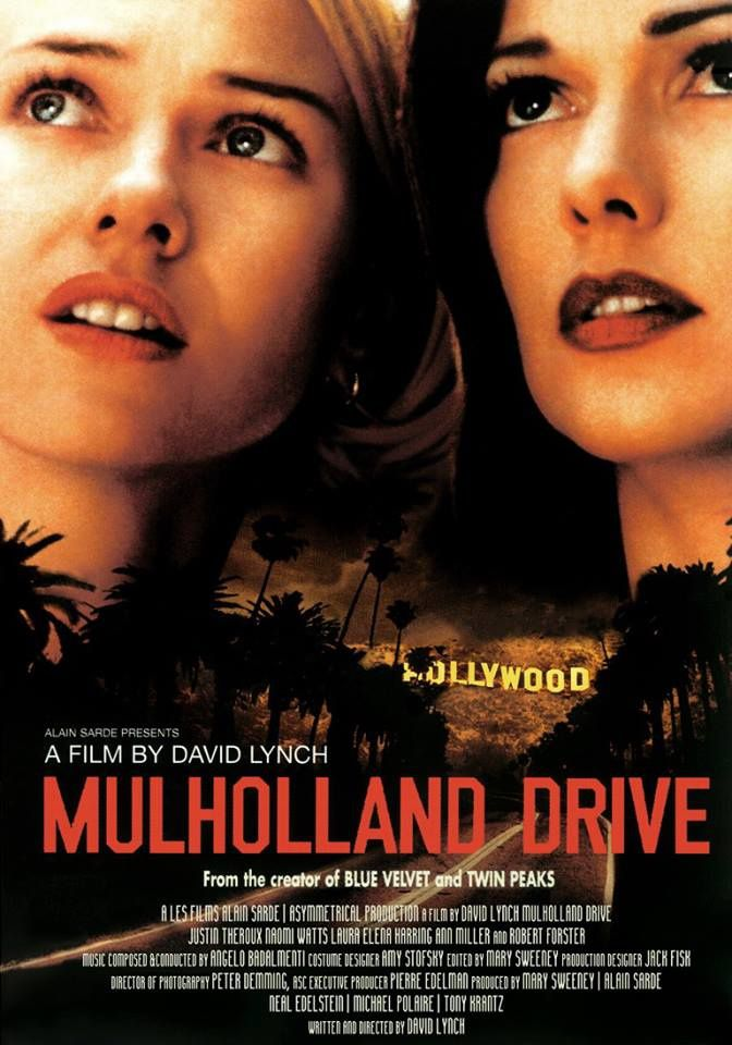 MULHOLLAND DRIVE de David Lynch [critique]