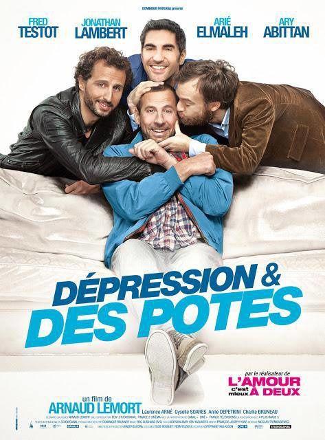 DEPRESSION ET DES POTES de Arnaud Lemort [critique]