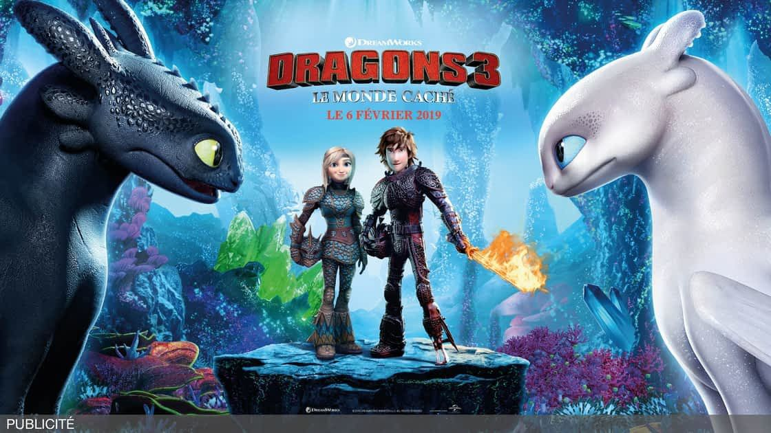 DRAGONS 3 : LE MONDE CACHÉ de Dean Deblois (via Dreamworks) [critique]