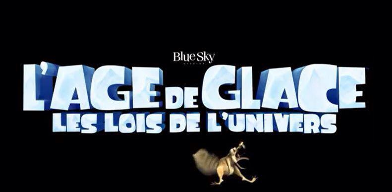 L'ÂGE DE GLACE 5, LES LOIS DE L'UNIVERS de Michael Thurmeier et Galen T. Chu (via BLUE SKY) [critique]