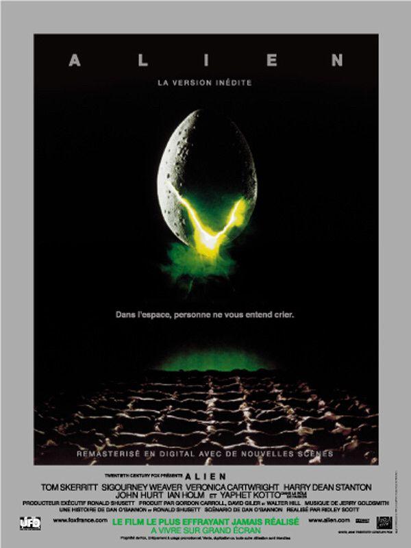 ALIEN : LE HUITIÈME PASSAGER de Ridley Scott [critique]