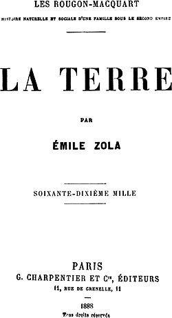 LA TERRE d'Emile Zola [contre-profil d'une œuvre] #3