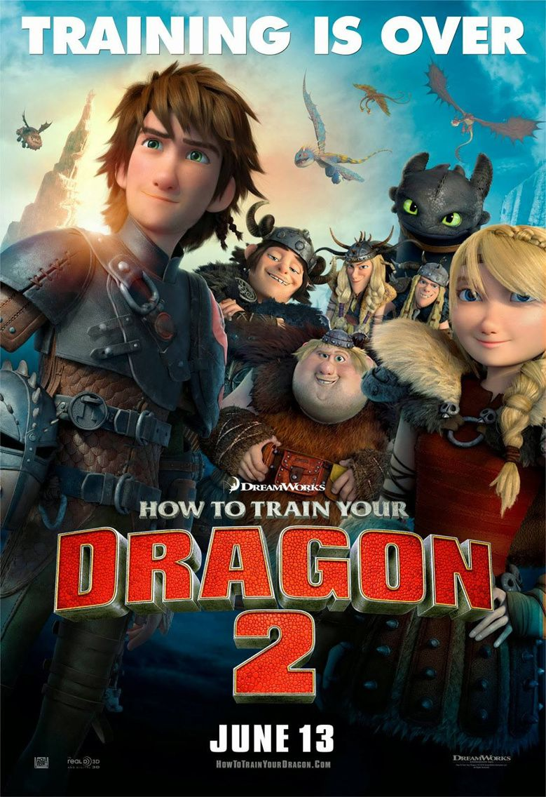 DRAGONS 2 de Dean DeBlois (via Dreamworks) [critique]