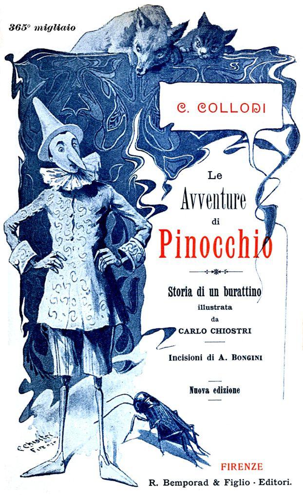 PINOCCHIO d'à-TRÈS-peu-près Carlo Collodi...