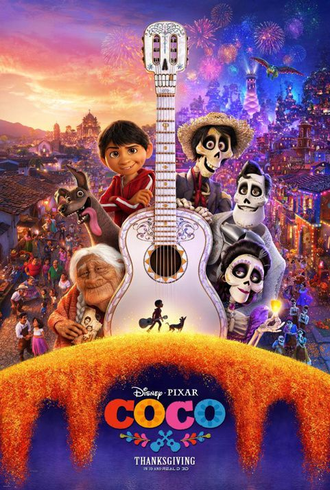 COCO de Lee Unkrich (via Disney-Pixar) [critique]