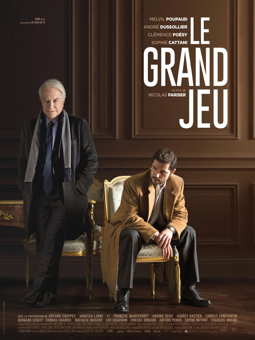 LE GRAND JEU de Nicolas Pariser [critique]
