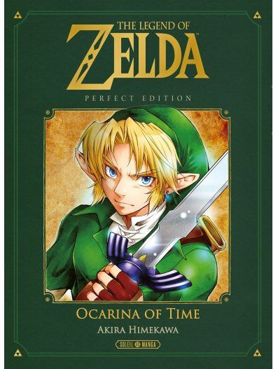 LEGEND OF ZELDA - OCARINA OF TIME - PERFECT EDITION POUR LE 30/11