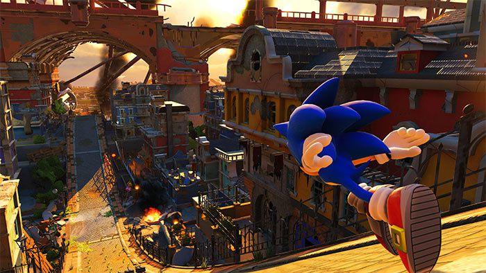 Vue sur Project Sonic 2017 qui devient Sonic Forces !