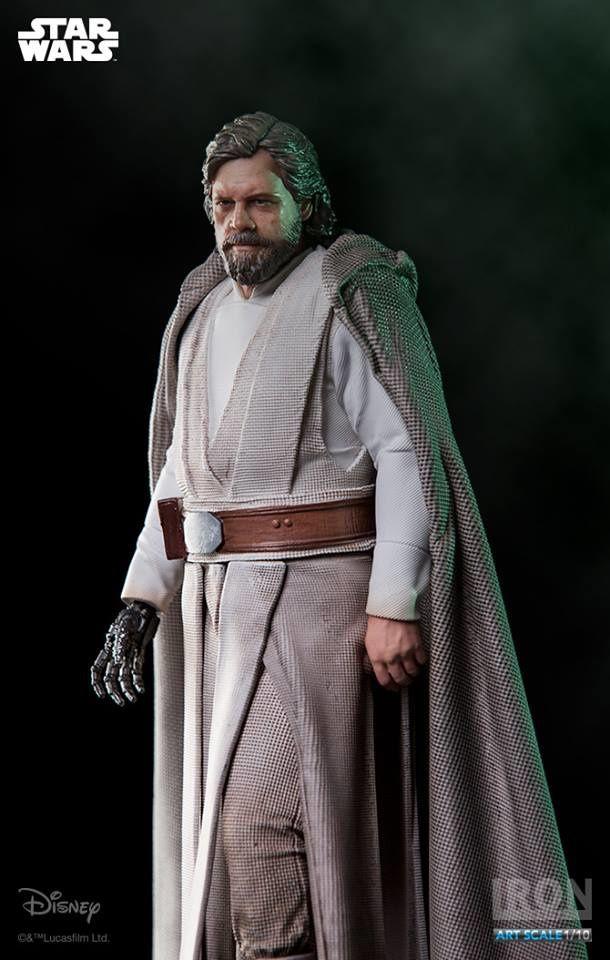 Luke Skywalker se décline en figurine chez Iron Studios