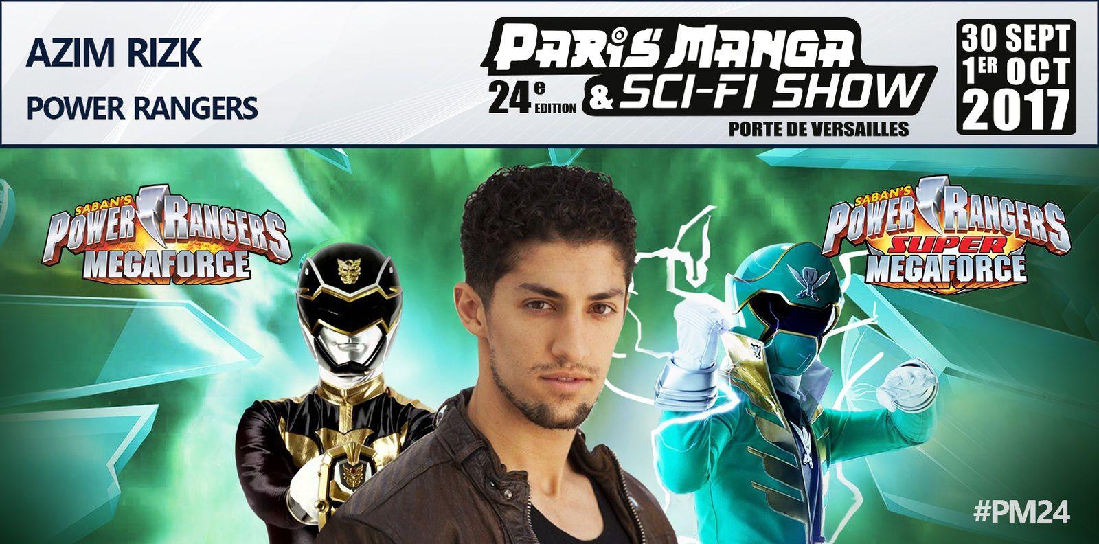 Les Power Rangers au PARIS MANGA & SCI-FI SHOW 24