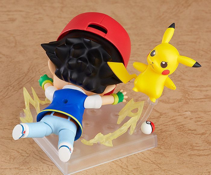 Sacha & Pikachu en Nendoroid édition I choose You