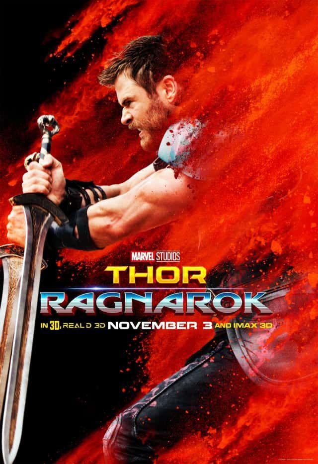 Nouvelles affiches promotionnelles pour Thor : Ragnarok