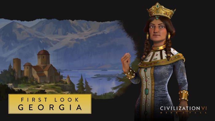 Sid Meier's Civilization VI : Rise and Fall Tamar à la tête de la Géorgie