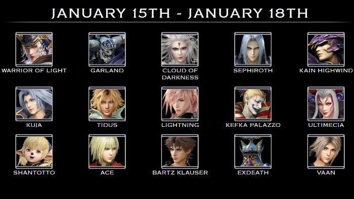 Dissidia Final Fantasy NT Jouez avec Noctis dans la bêta ouverte