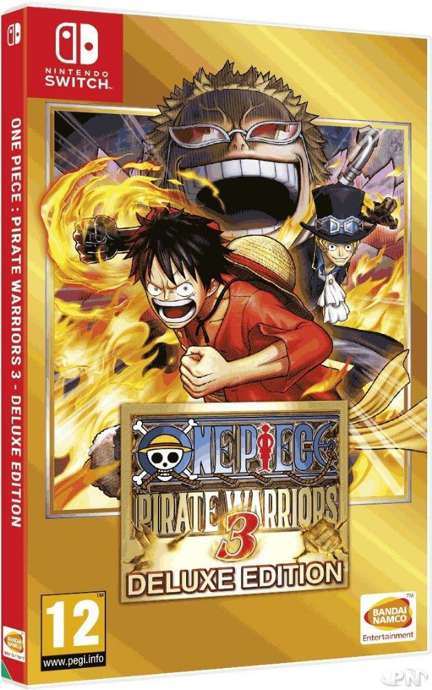 One Piece : Pirate Warriors 3 Edition Deluxe sur Nintendo Switch