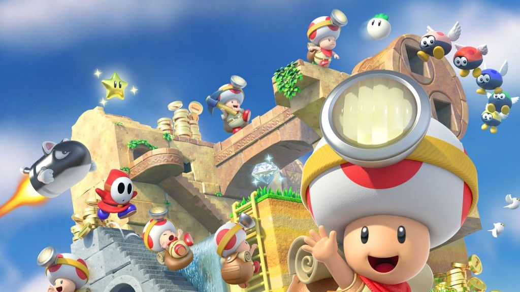Captain Toad: Treasure Tracker 3ds switch