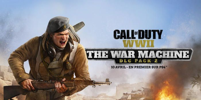 Call of Duty : WWII - The War Machine Première bande-annonce pour le Pack DLC 2