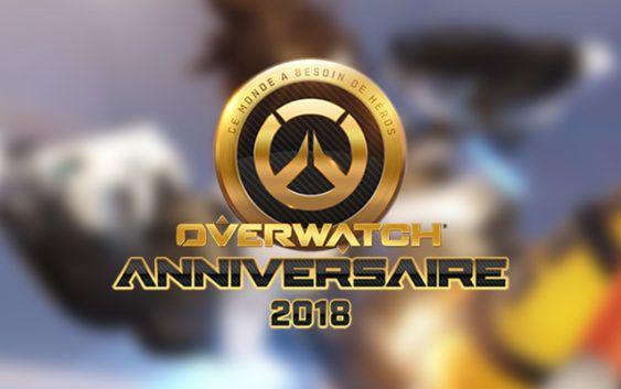 Overwatch célèbre son anniversaire dès le 22 Mai