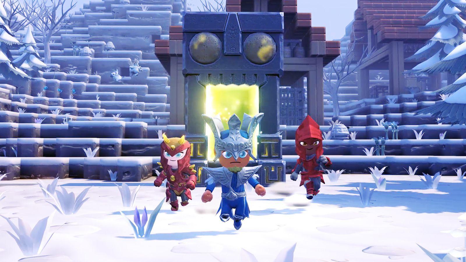 """Portal Knights Mobile - La Mise à jour """"Créateur"""" est disponible"""