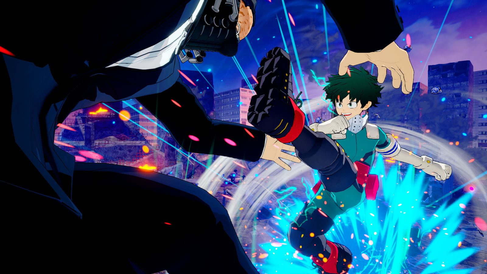 MY HERO ONE'S JUSTICE présente une version alternative de Izuku Midoriya en DLC