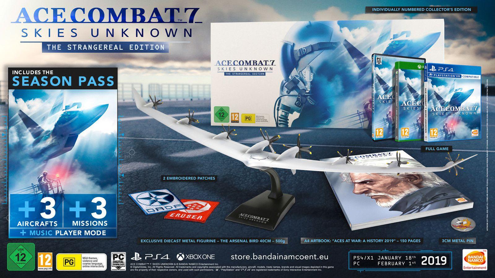 ACE COMBAT 7 Edition Collector annoncée