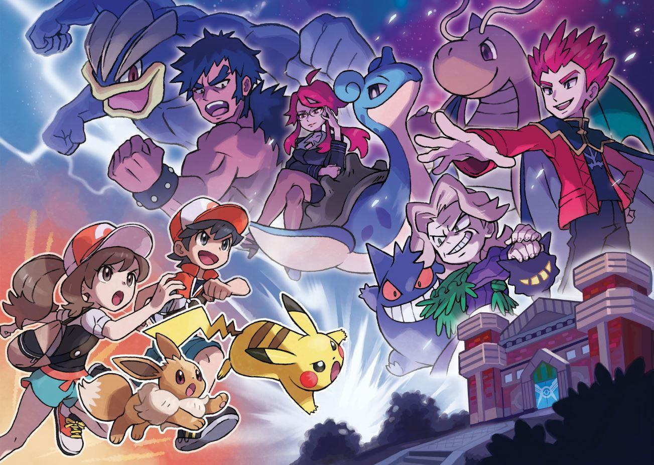 Pokémon : Let's Go, PikachuetPokémon : Let's Go, Évoli,