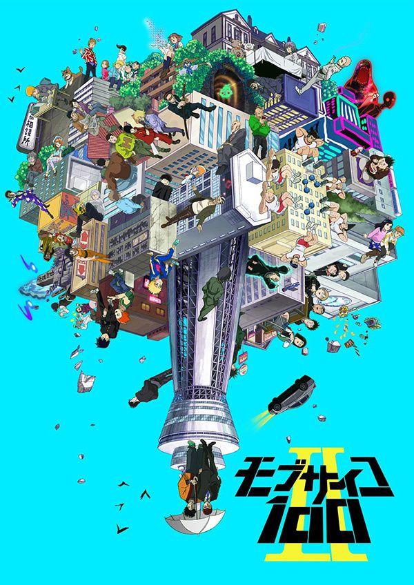 La saison 2 de MOB PSYCHO 100 en janvier sur Crunchyroll