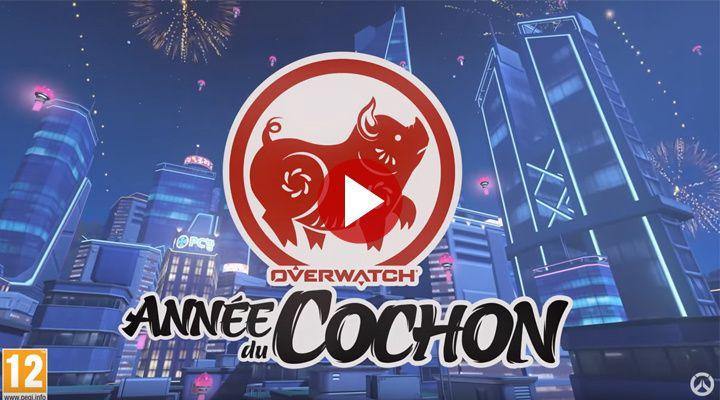 [Overwatch] L'année du Cochon a commencé, l'événement saisonnier aussi !