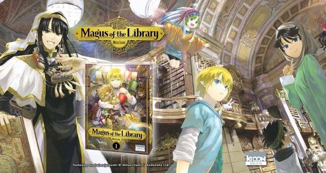 Le manga Magus of the Library en bande annonce !