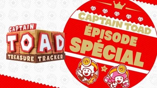 Captain Toad: Treasure Tracker - Épisode Spécial* débarque sur Nintendo Switch.