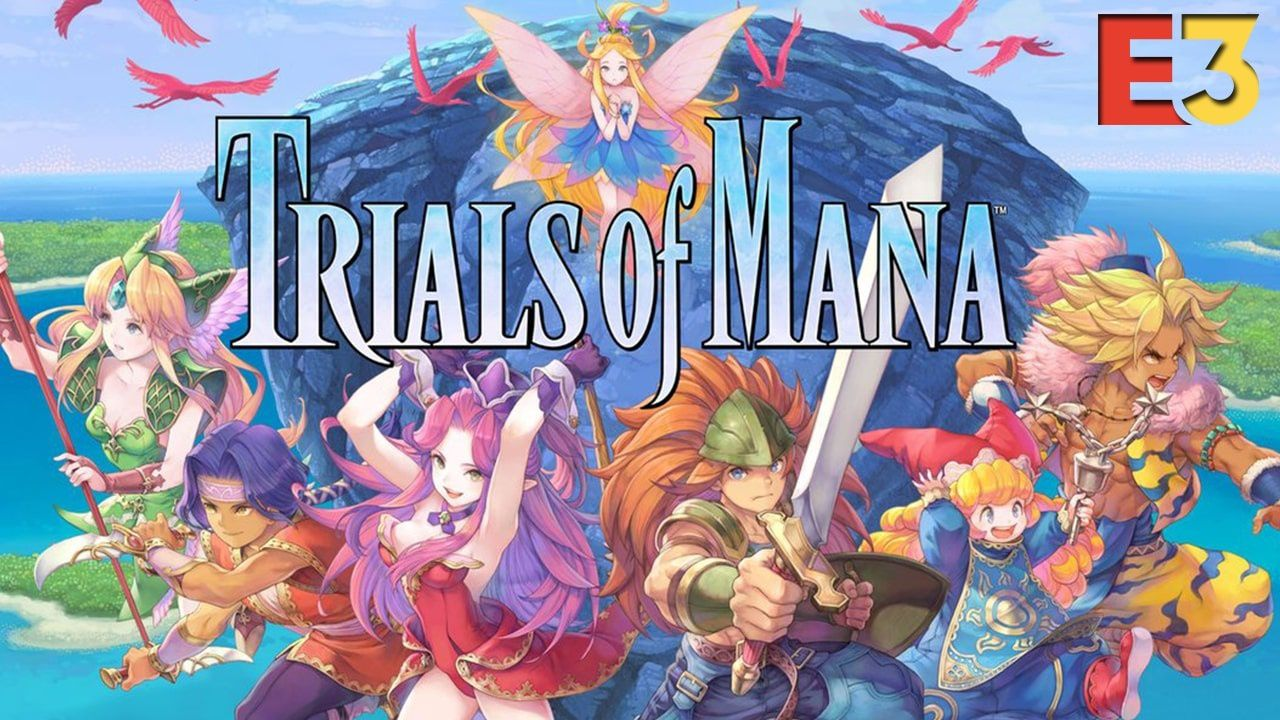 #E32019 : TRIALS OF MANA etCOLLECTION OF MANA annoncés