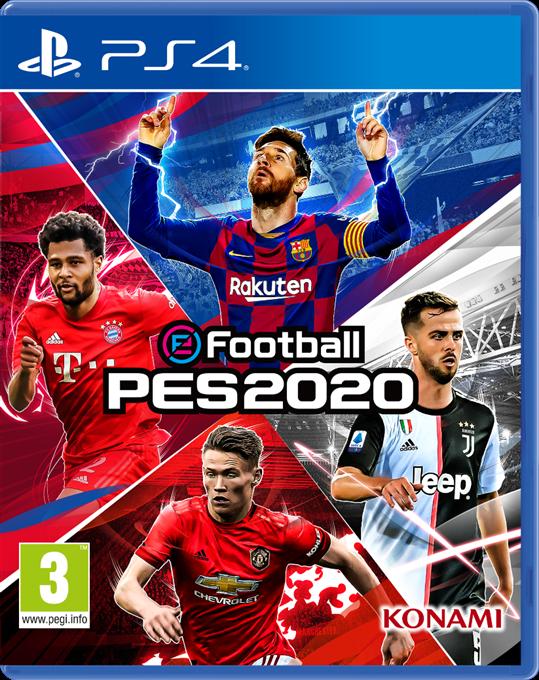 La démo d'eFootball PES 2020 est disponible