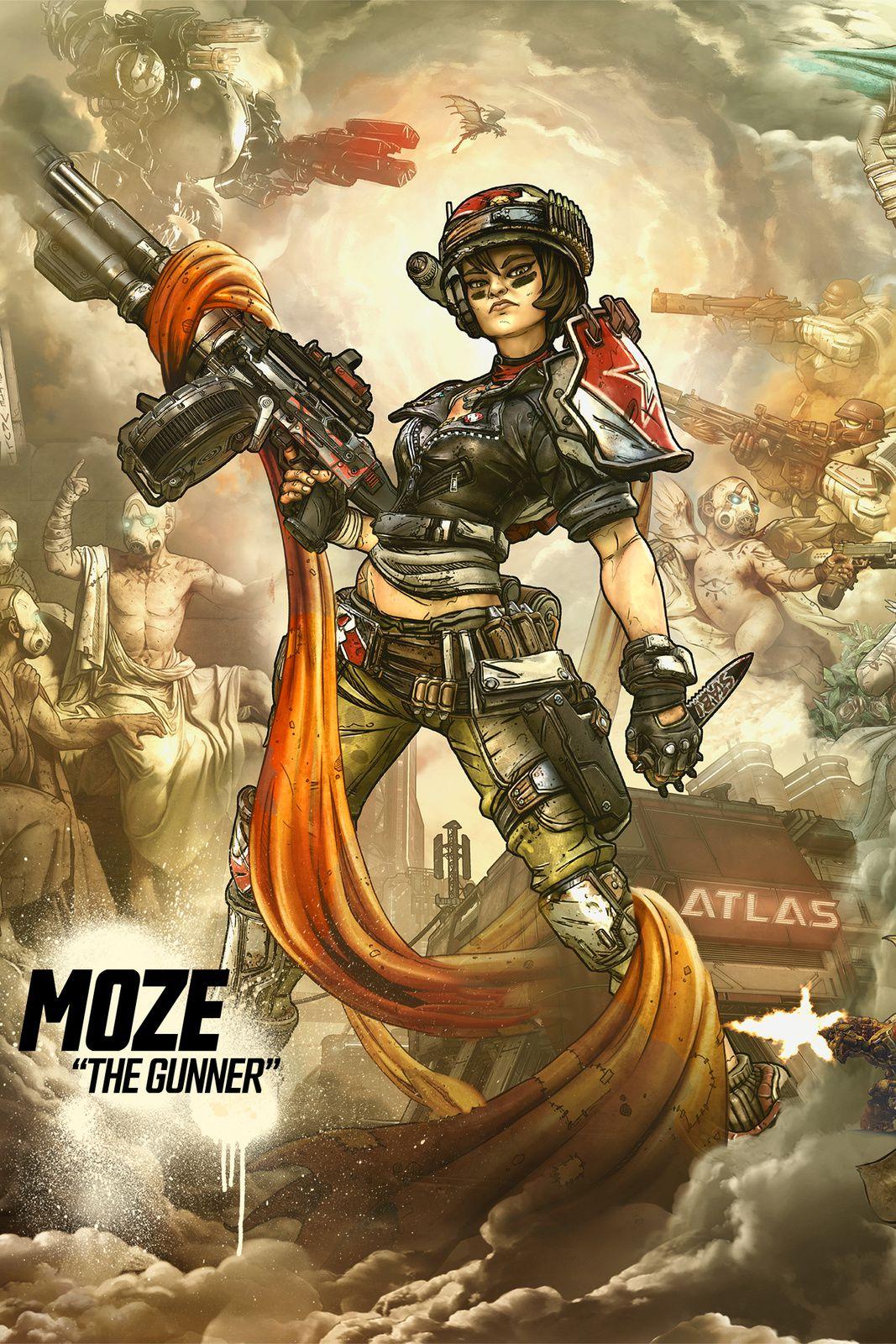 Borderlands 3 : Faites la connaissance de Moze l'Artilleuse