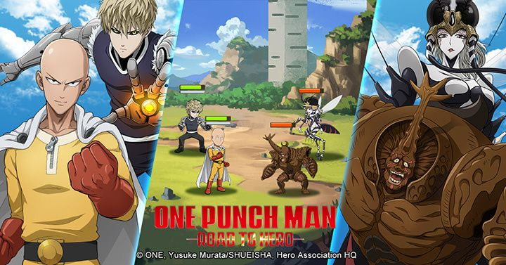 Oasis Games lance son Jeu Mobile Officiel One Punch Man, One Punch Man: Road to Hero