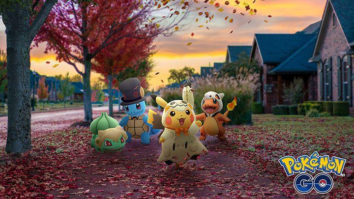 Halloween débarque dans Pokémon GO !