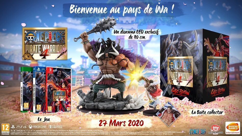 One Piece Pirate Warriors 4 : date de sortie, trailer, collector ..