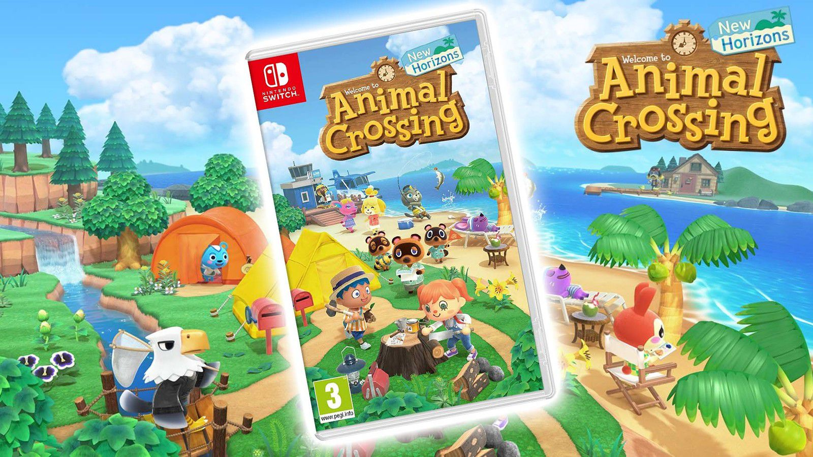NINTENDO SWITCH « ÉDITION ANIMAL CROSSING: NEW HORIZONS