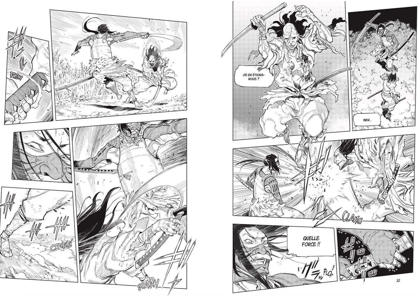 Mana Booksdate le manga Sekiro !