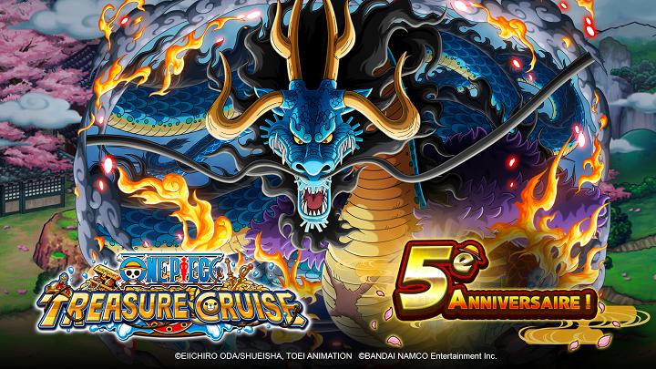 One Piece Treasure Cruise part au pays de Wano pour célébrer son cinquième anniversaire